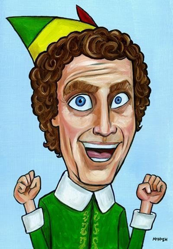 Buddy The Elf Mcillustrator
