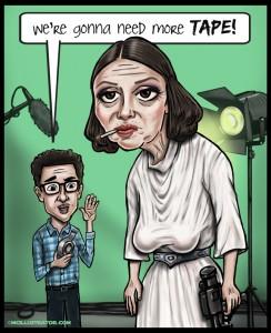 60 Year-Old Princess Leia