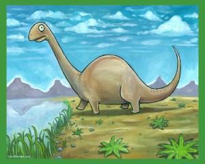 Brontosaurus - Dinosaur Series