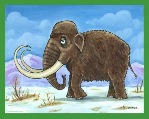Woolly Mammoth - Dinosaur Series