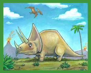 Triceratops - Dinosaur Series