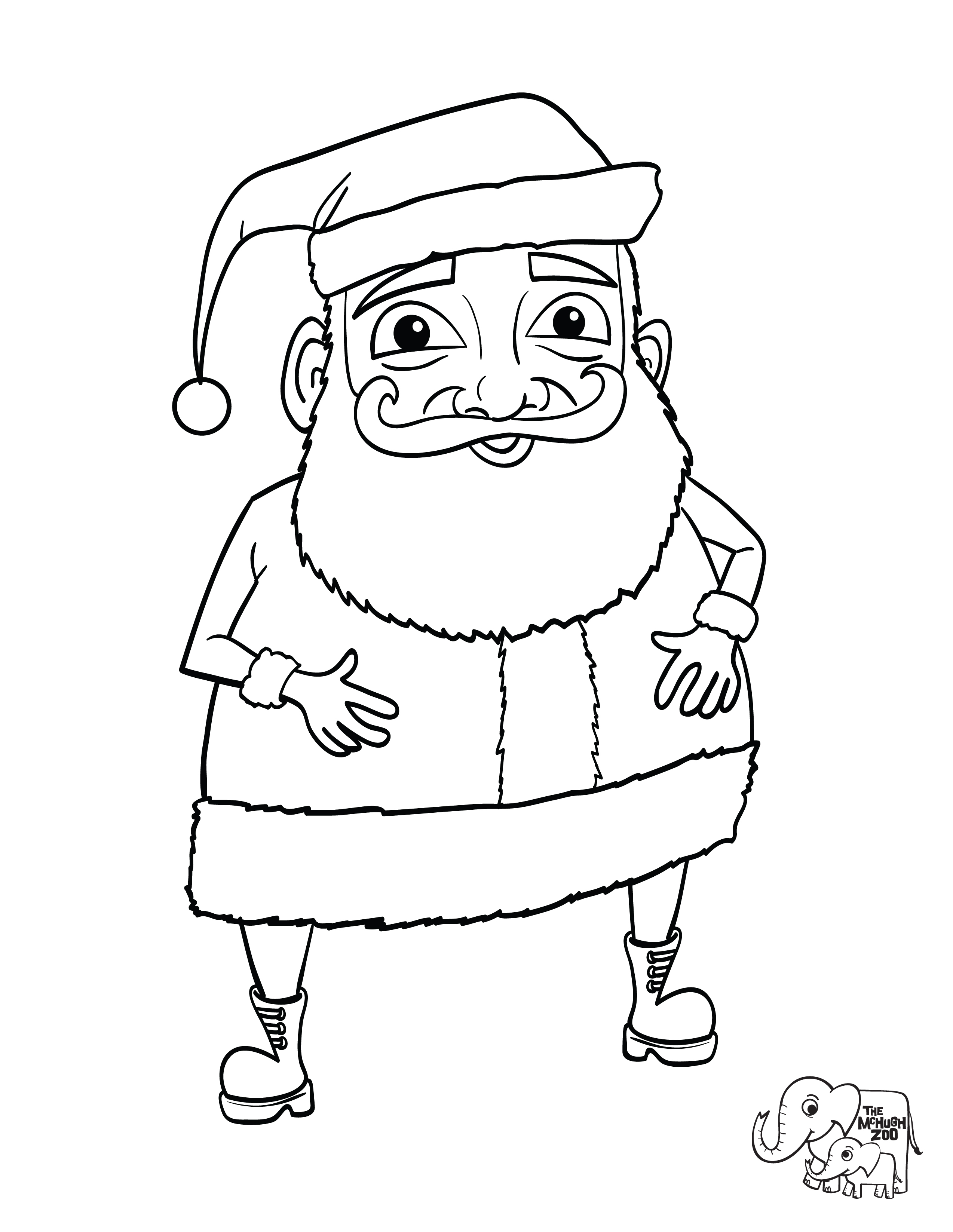 buddy the elf coloring pages - photo#14