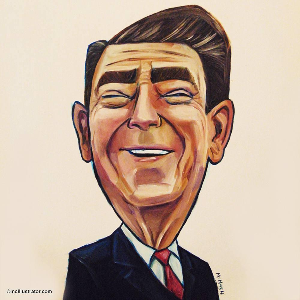 Ronald Reagan McIllustrator